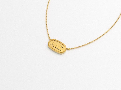 Alpha Delta Pi Greek Necklace