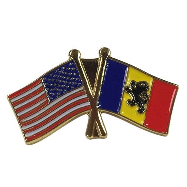 Delta Kappa Epsilon USA / Fraternity Flag Pin