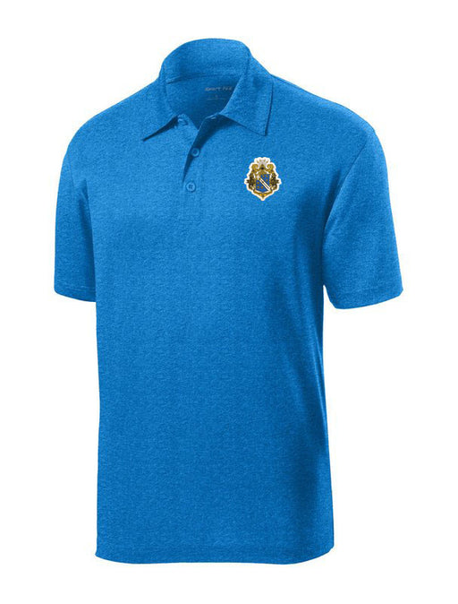 Alpha Phi Omega Crest Contender Polo