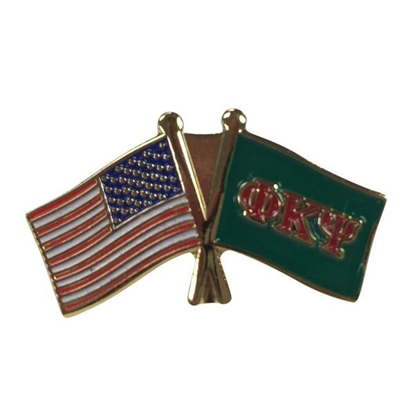 Phi Kappa Psi USA / Fraternity Flag Pin