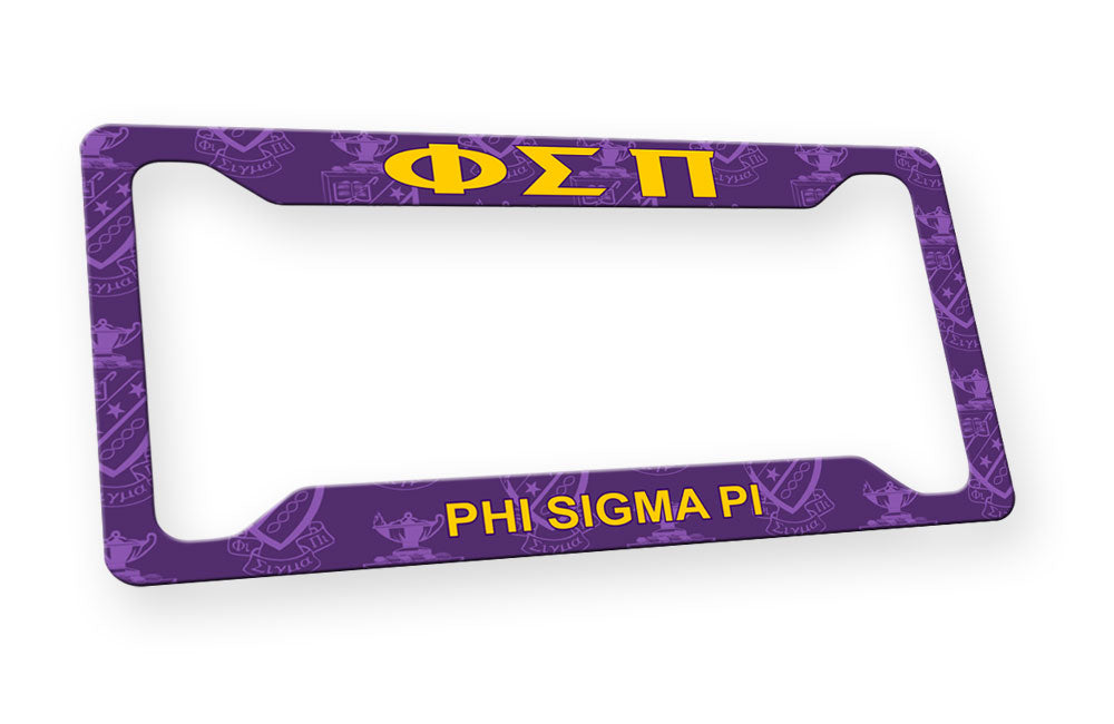 Phi Sigma Pi New License Plate Frame