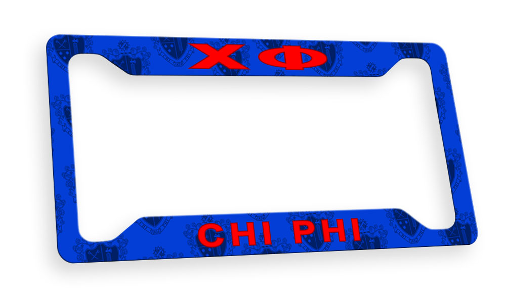 Chi Phi New License Plate Frame