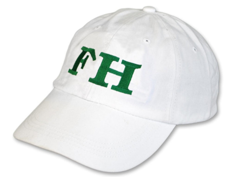 Farmhouse Greek Letter Embroidered Hat
