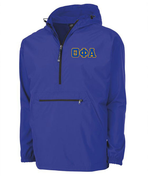 Theta Phi Alpha Embroidered Pack and Go Pullover