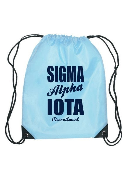 Sigma Alpha Iota Cursive Impact Sports Bag