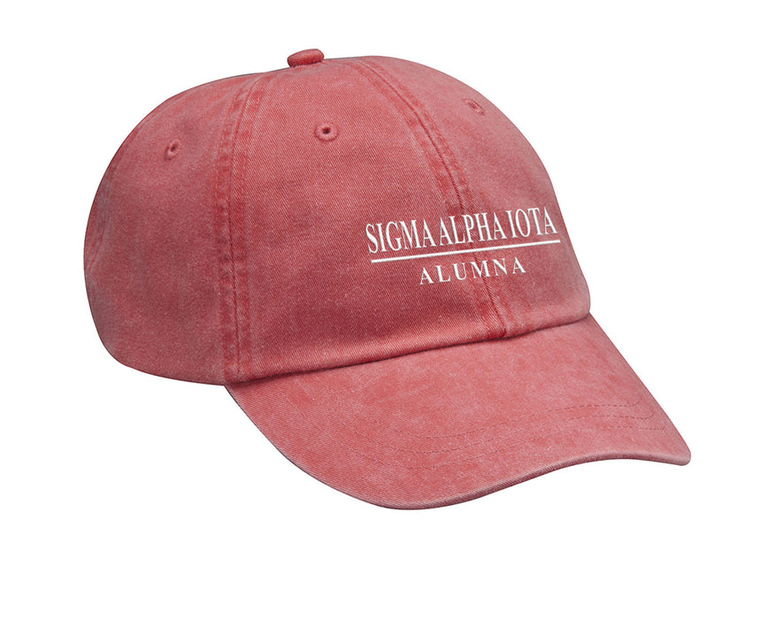 Sigma Alpha Iota Line Year Embroidered Hat