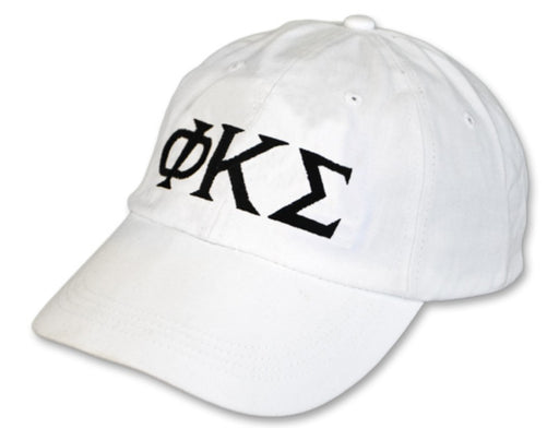 Phi Kappa Sigma Greek Letter Embroidered Hat