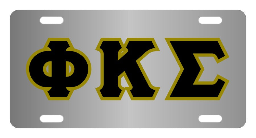 Phi Kappa Sigma Fraternity License Plate Cover