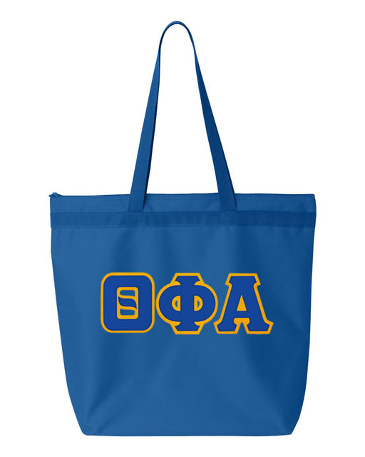 Theta Phi Alpha Greek Lettered Game Day Tote