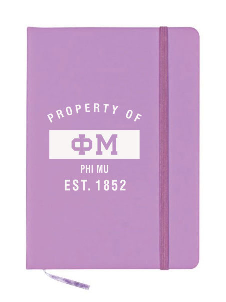 Phi Mu Property of Notebook