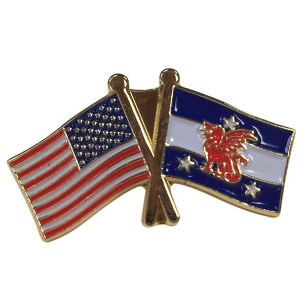 Beta Theta Pi USA / Fraternity Flag Pin