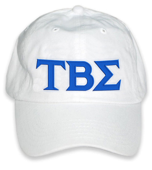Tau Beta Sigma Greek Letter Embroidered Hat