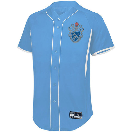 Theta Xi 7 Full Button Baseball Jersey