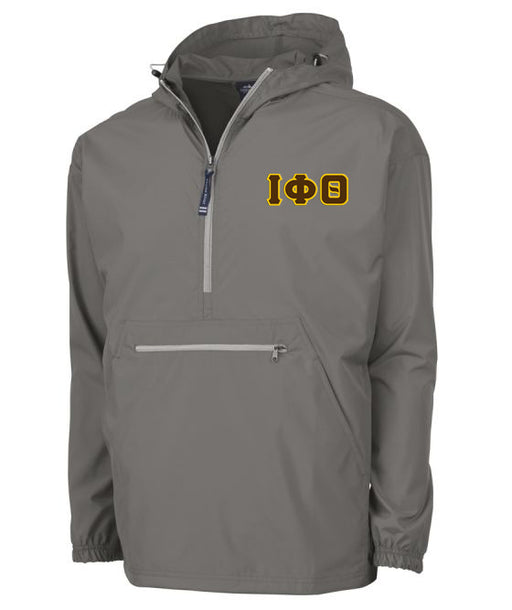Iota Phi Theta Embroidered Pack and Go Pullover