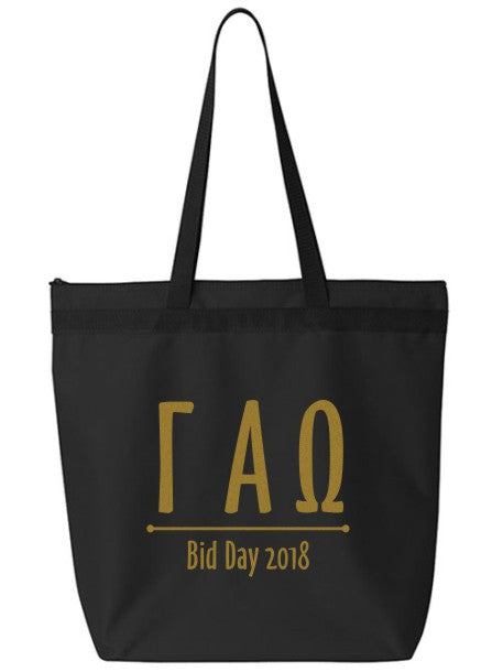 Gamma Alpha Omega Oz Letters Event Tote Bag