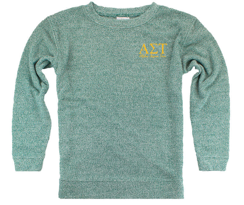 Alpha Sigma Tau Lettered Cozy Sweater