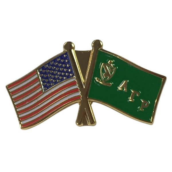 Alpha Gamma Rho USA / Fraternity Flag Pin