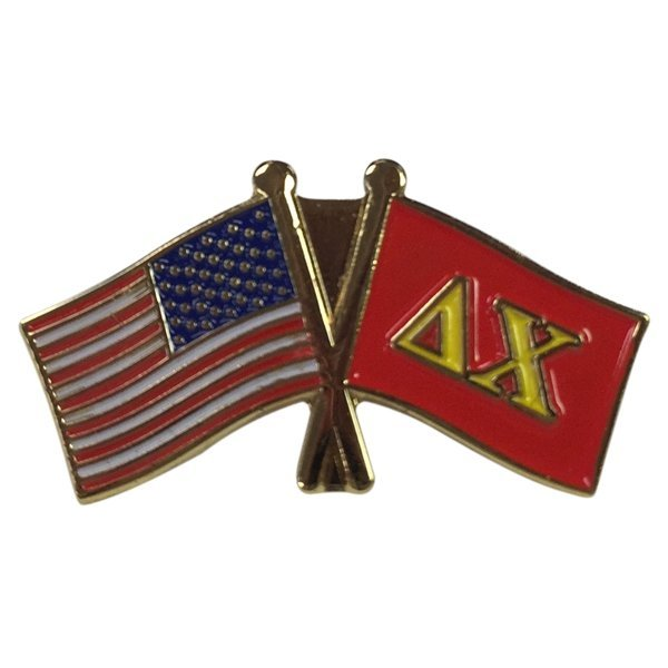 Delta Chi USA / Fraternity Flag Pin