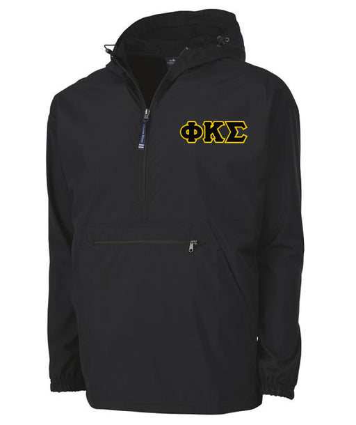Phi Kappa Sigma Embroidered Pack and Go Pullover