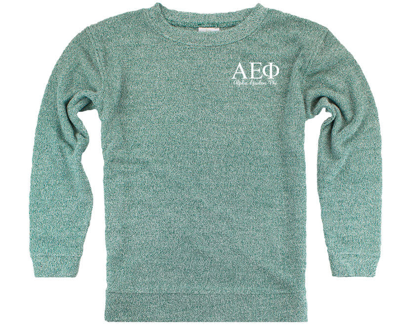 Alpha Epsilon Phi Lettered Cozy Sweater