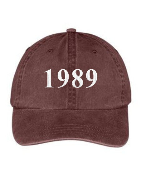 Alpha Sigma Kappa Year Established Embroidered Hat