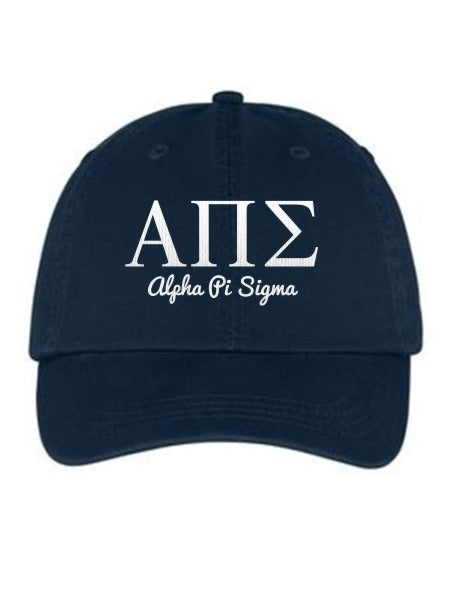 Alpha Pi Sigma Collegiate Curves Hat