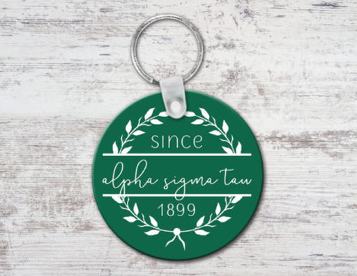 Alpha Sigma Tau Since Established Keyring