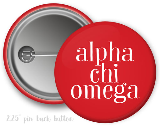 Sorority Simple Text Button