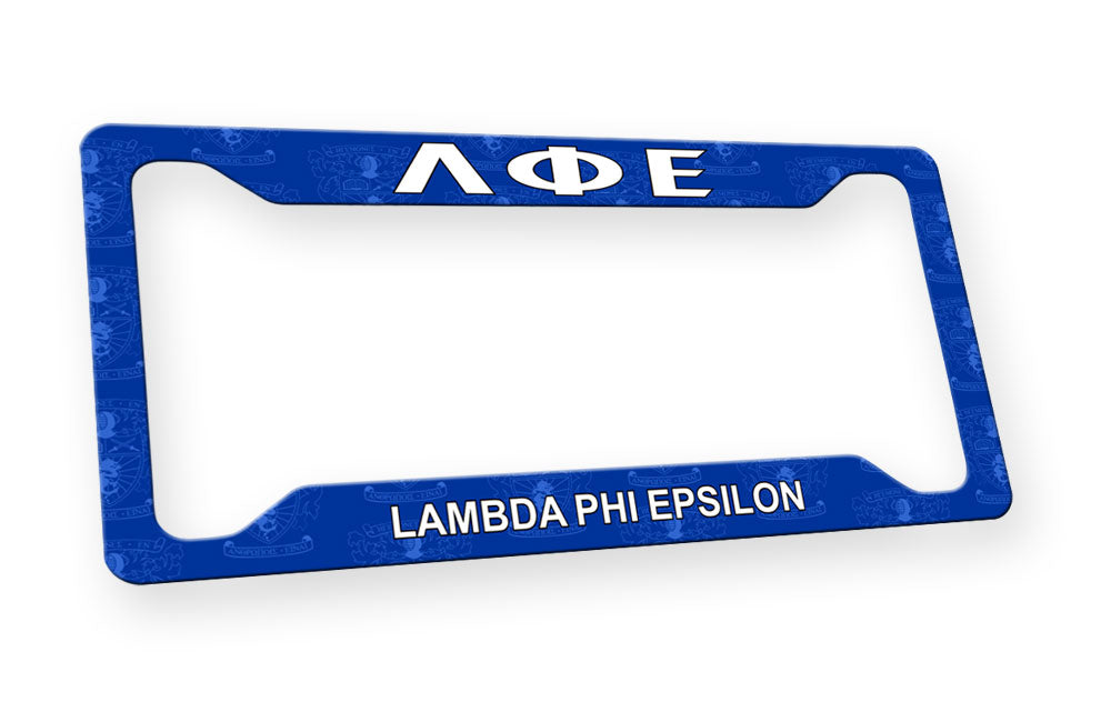 Lambda Phi Epsilon New License Plate Frame