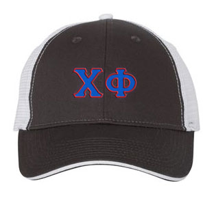 Chi Phi Greek Trucker Cap