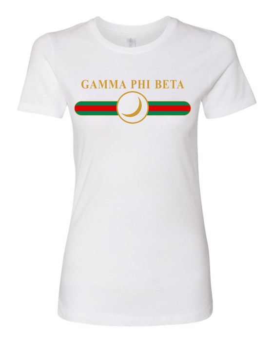Gamma Phi Beta Boyfriend Golden Crew Tee