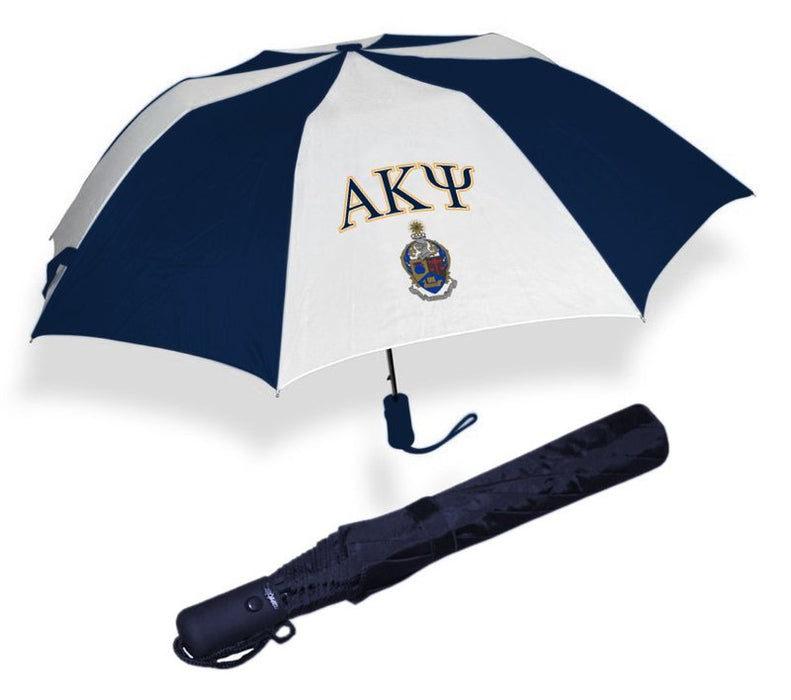 Alpha Kappa Psi Crest Umbrella
