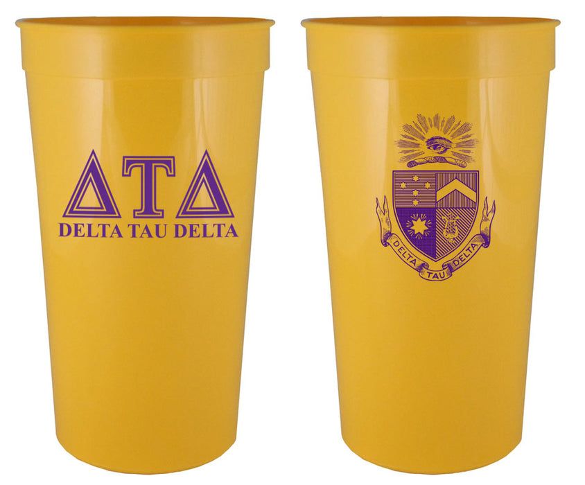 Delta Tau Delta Fraternity New Crest Stadium Cup