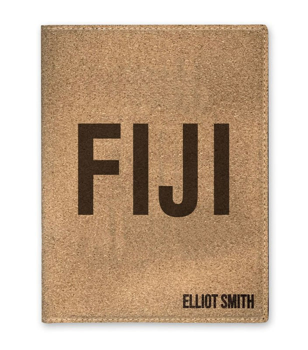 Phi Gamma Delta Cork Portfolio with Notepad