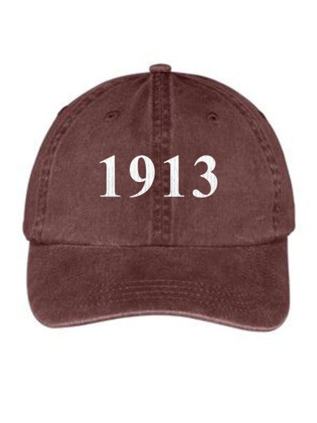 Lambda Kappa Sigma Year Established Embroidered Hat