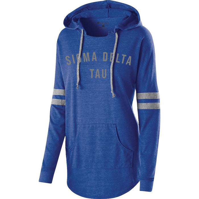 Sigma Delta Tau Hooded Low Key Pullover