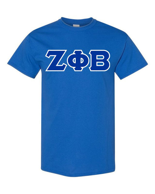 Zeta Phi Beta Lettered T Shirt