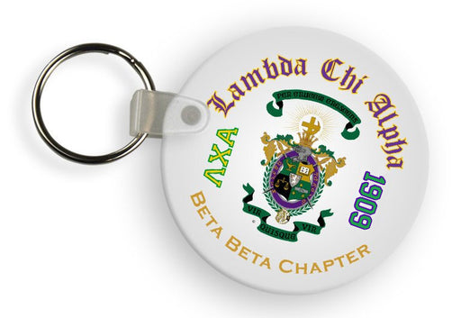 Lambda Chi Alpha Color Keychain