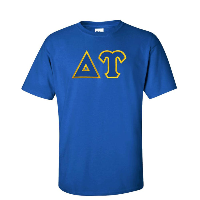 Delta Upsilon Lettered T Shirt