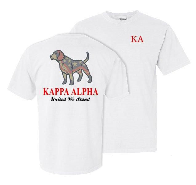 Kappa Alpha Stand Tall Comfort Colors Heavy Tee