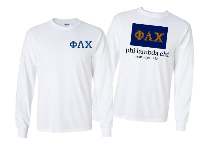 Phi Lambda Chi Long Sleeve Flag Tee