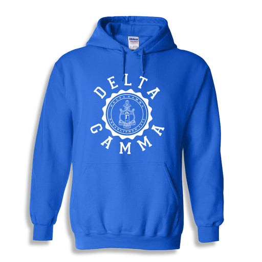 Delta Gamma World Famous Seal Crest Hoodie
