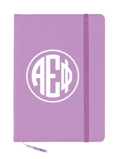 Alpha Epsilon Phi Monogram Notebook