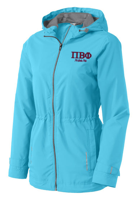 Pi Beta Phi Embroidered Ladies Northwest Slicker