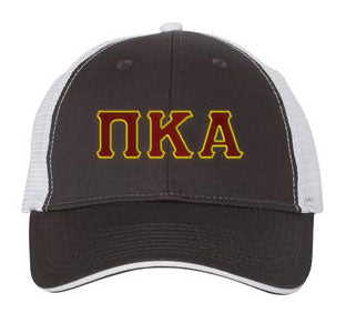 Pi Kappa Alpha Greek Trucker Cap