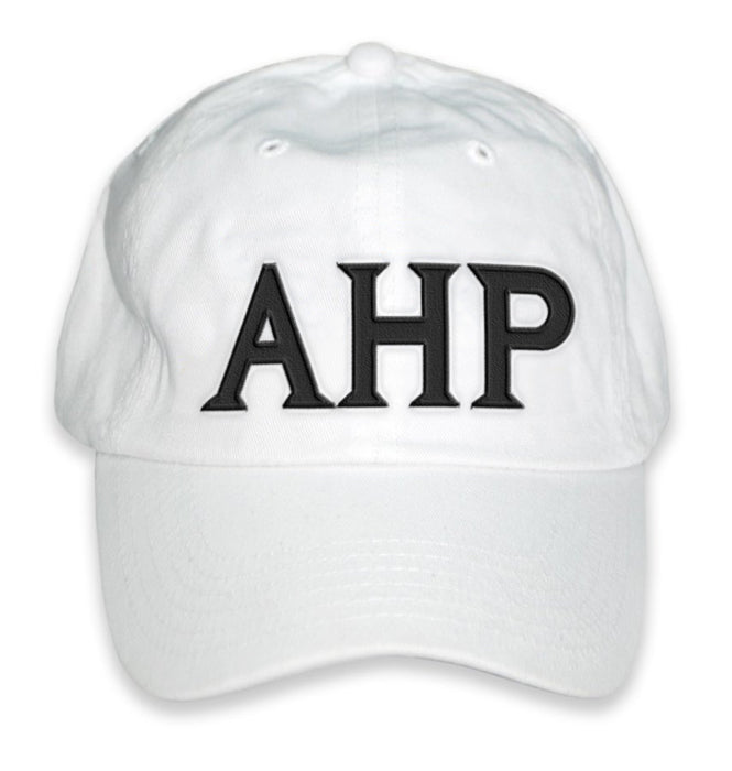 Alpha Eta Rho Greek Letter Embroidered Hat