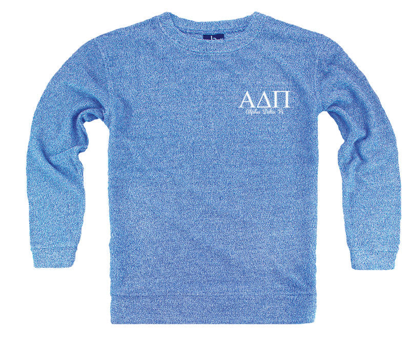 Alpha Delta Pi Lettered Cozy Sweater