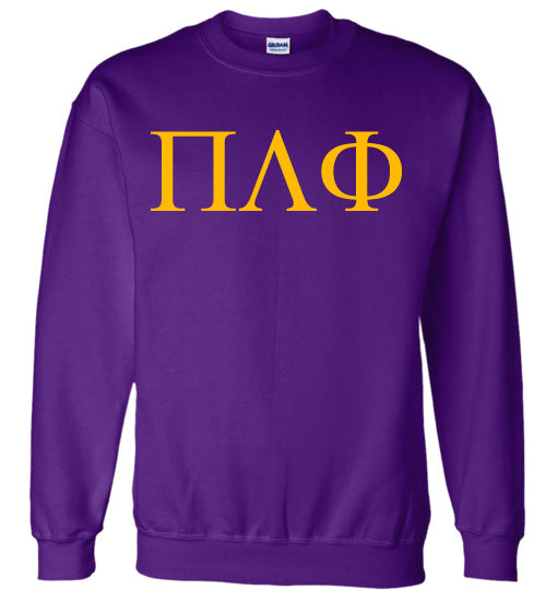 Pi Lambda Phi World Famous Lettered Crewneck Sweatshirt