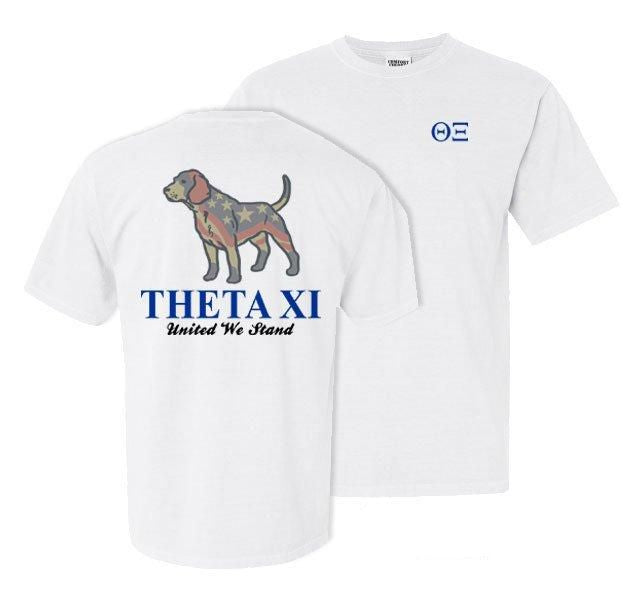 Theta Xi Stand Tall Comfort Colors Heavy Tee