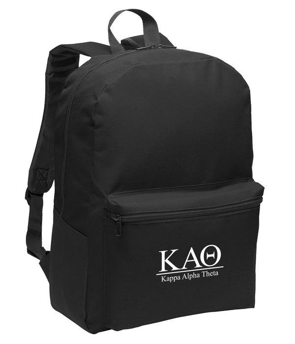Kappa Alpha Theta Collegiate Embroidered Backpack